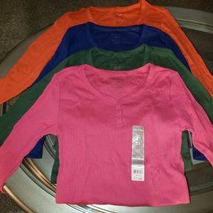 4pc thermal shirt lot